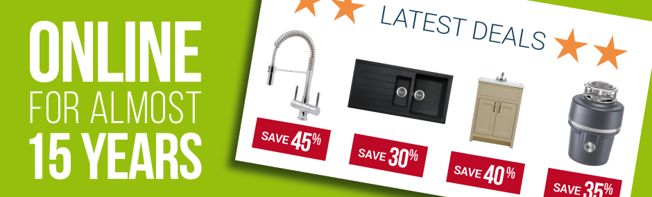 Sinks-Taps.com Great Prices and FREE Delivery to most UK Locations  for orders over £50