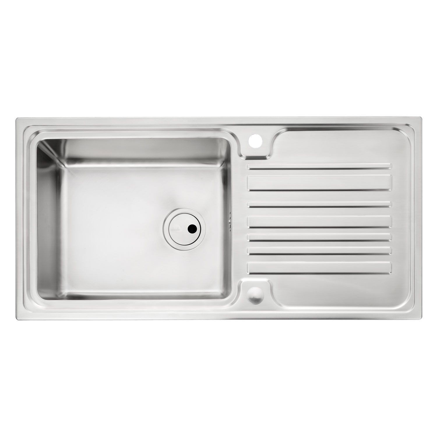 Abode aw5047 apex 10 bowl stainless steel sink sinks taps apex 10 bowl stainless steel kitchen sink workwithnaturefo