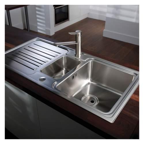 Apex 1.5 Bowl Stainless Steel Kitchen Sink