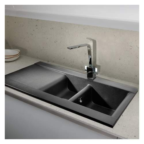 Aspekt 1.5 Bowl Granite Kitchen Sink