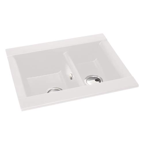 Aspekt 1.5 Bowl Granite Kitchen Sink Without Drainer