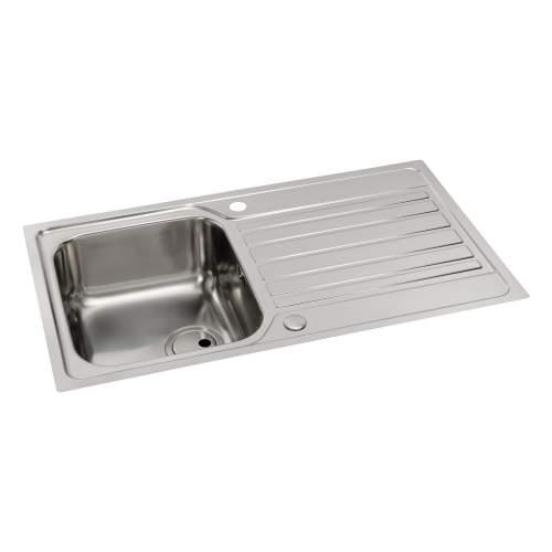 CONNEKT Flush-Fit 1.0 Bowl Kitchen Sink
