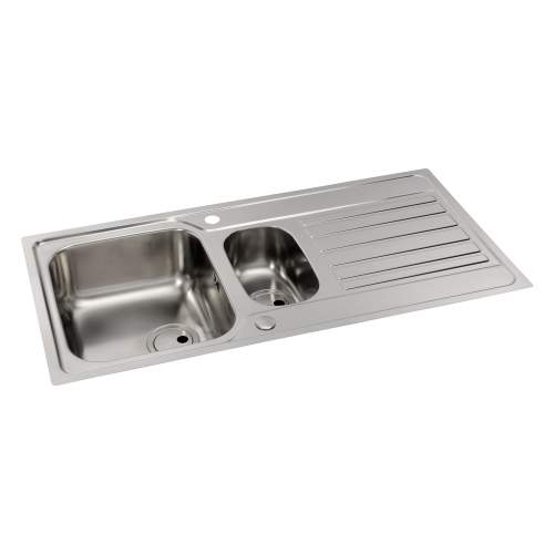 CONNEKT Flush-Fit 1.5 Bowl Kitchen Sink