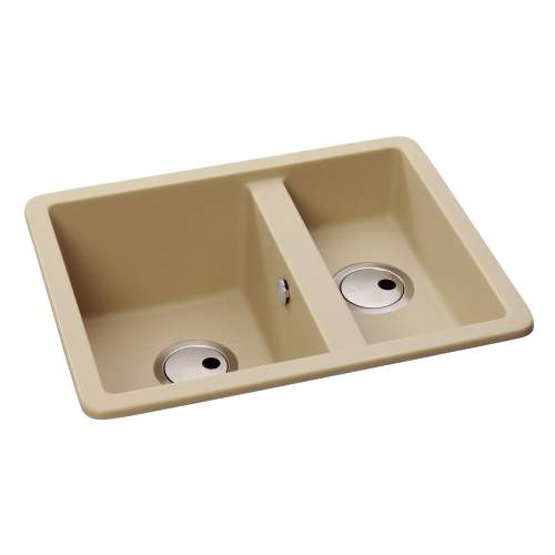 MATRIX SQGR15 Compact 1.5 Bowl Granite Kitchen Sink