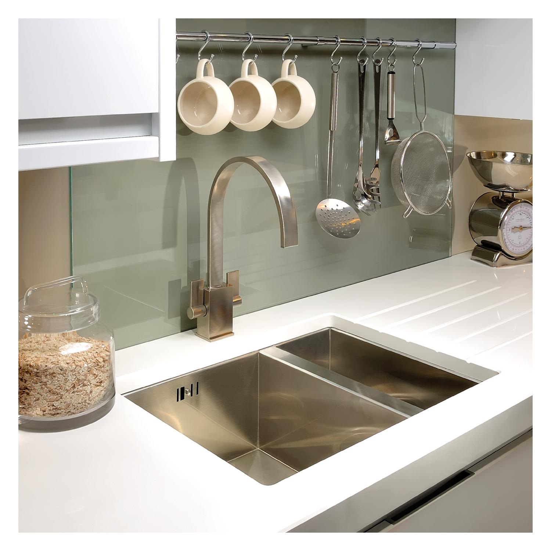 Abode Matrix R0 1.5 Bowl Undermount Sink - Sinks-Taps.com