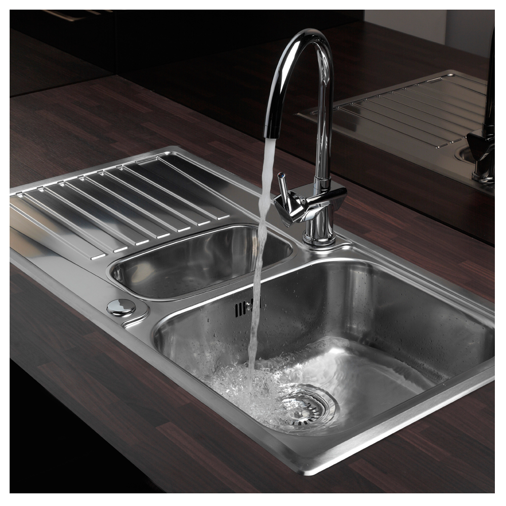 inset kitchen sink reginox centurio 1 5 bowl inset kitchen sink sinks taps 1870