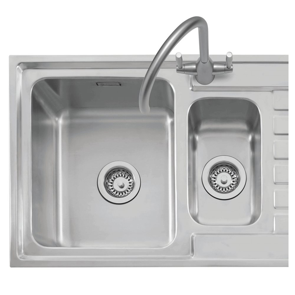 inset kitchen sink caple vanga 150 stainless sink sinks taps 1870