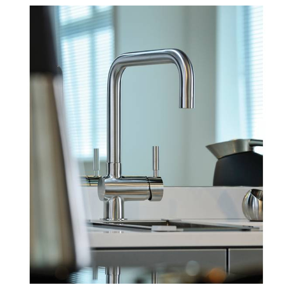 Abode Propus Single Lever Tap in StSteel -AT1070 - Sinks-Taps.com