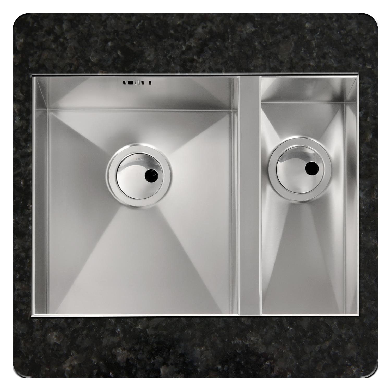 Abode matrix r0 1 5 bowl undermount sink sinks taps com