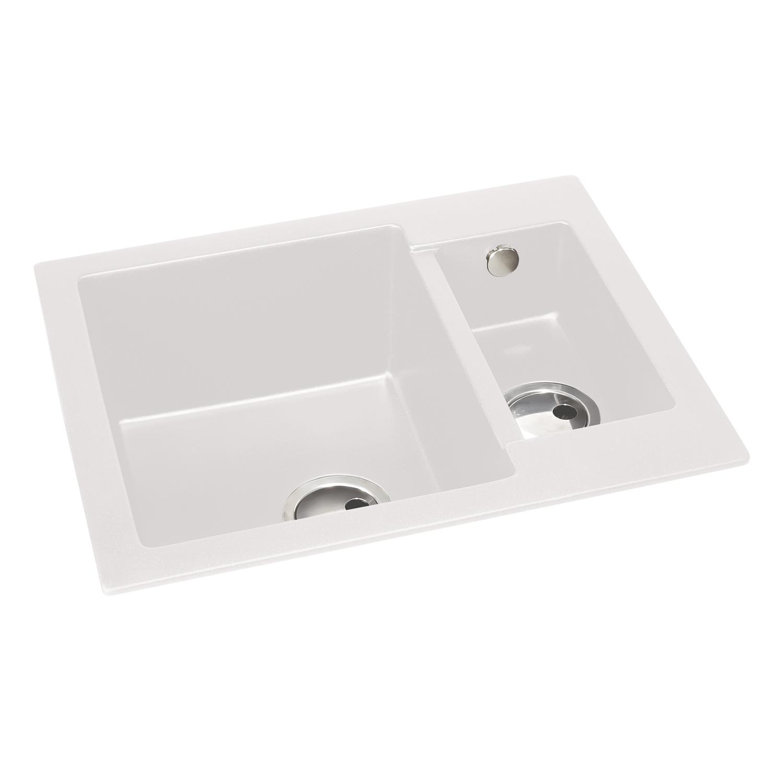 Abode Zero 1.5 Bowl Granite Sink Without Drainer - Sinks-Taps.com