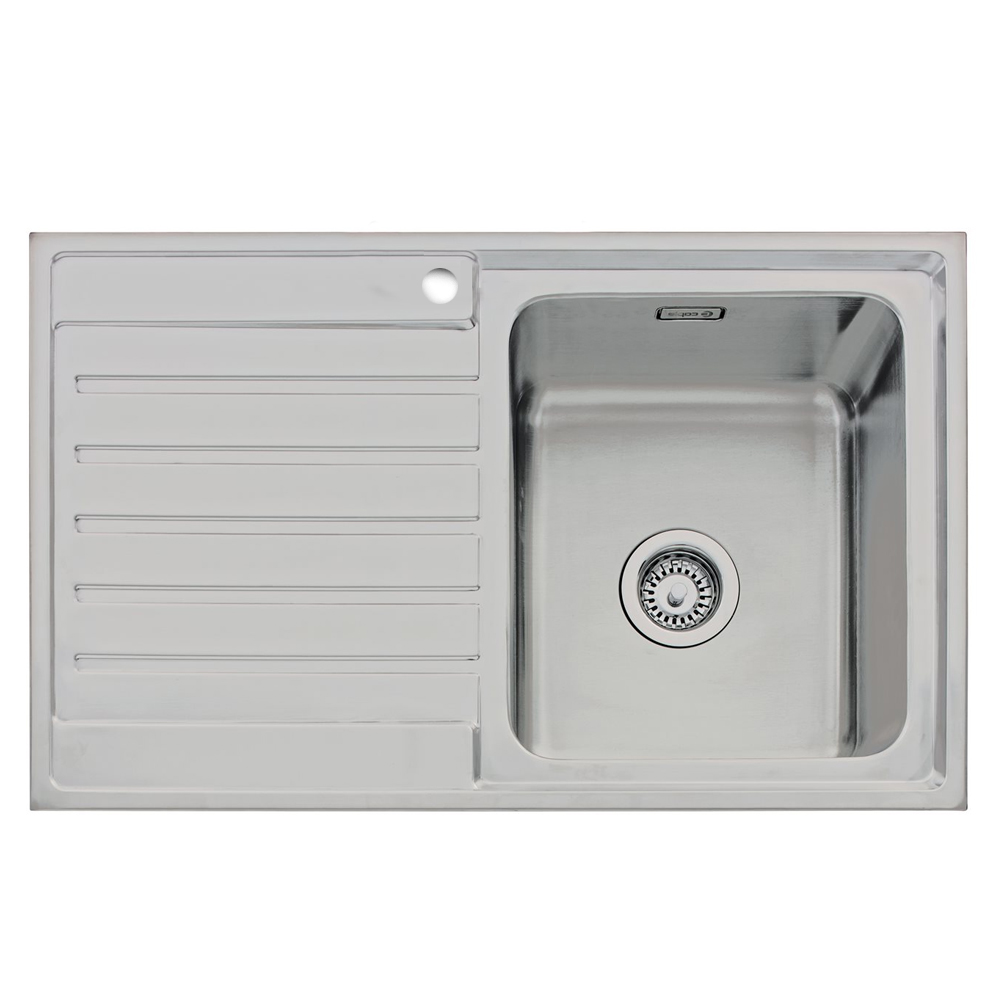 inset kitchen sink caple vanga 90 sink sinks taps 1870