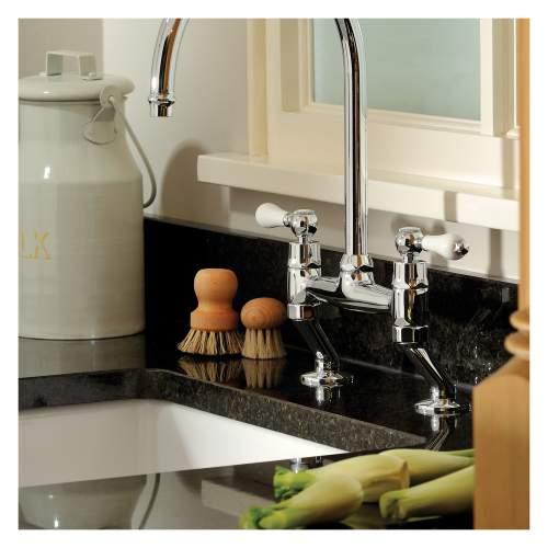 Matrix CR25 Large 1.0 Bowl Ceramic Kitchen Sink