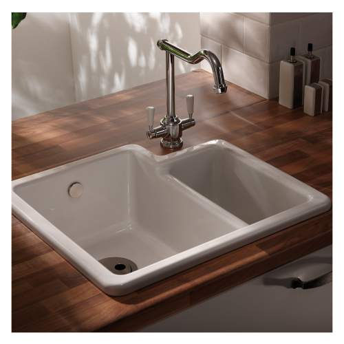 Matrix CR25 1.5 Bowl Ceramic Kitchen Sink