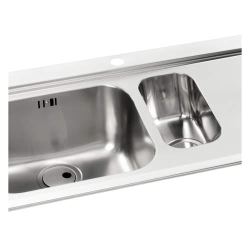 Maxim 1.5 Bowl Stainless Steel Kitchen Sink