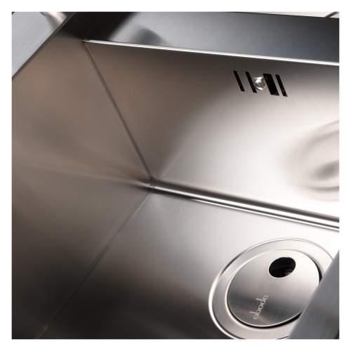 Metrik 1.5 Bowl Stainless Steel Kitchen Sink