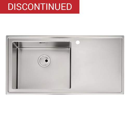 Theorem 1.0 Bowl Stainless Steel Kitchen Sink