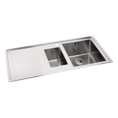 Theorem 1.5 Bowl Stainless Steel Kitchen Sink