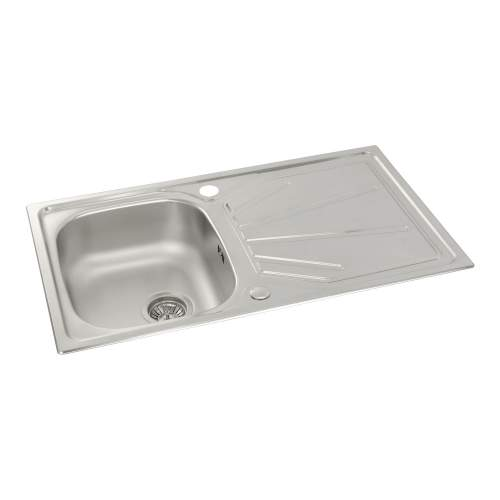 TRYDENT Compact 1.0 Bowl Kitchen Sink