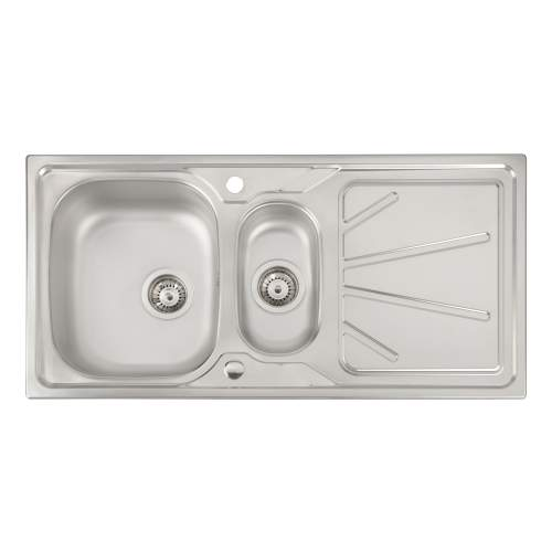 TRYDENT 1.5 Bowl Kitchen Sink
