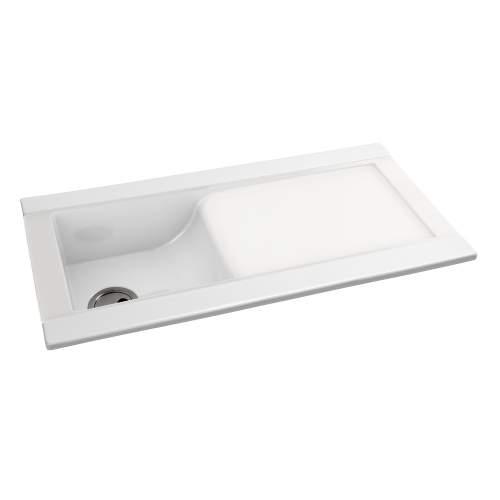 Tydal 1.0 Bowl Ceramic Kitchen Sink