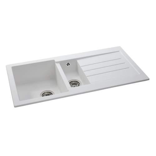 XCITE 1.5 Bowl Granite Kitchen Sink