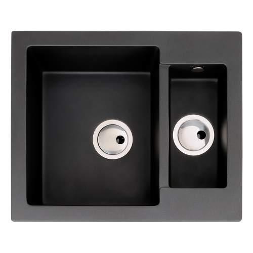 Zero 1.5 Bowl Granite Kitchen Sink Without Drainer