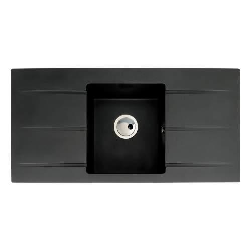 Zero 1.0 Bowl Double Drainer Granite Kitchen Sink