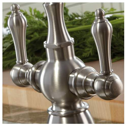 BAYENNE Dual Lever Mixer Kitchen Tap With Handspray
