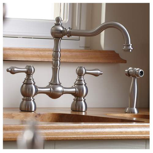 BAYENNE Bridge Kitchen Tap With Handspray