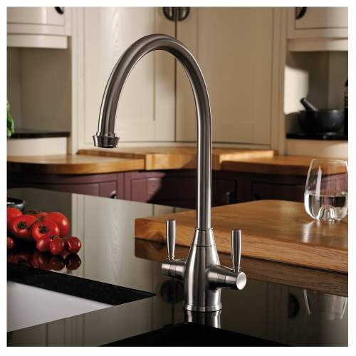BROMPTON Dual Lever Kitchen Mixer Tap
