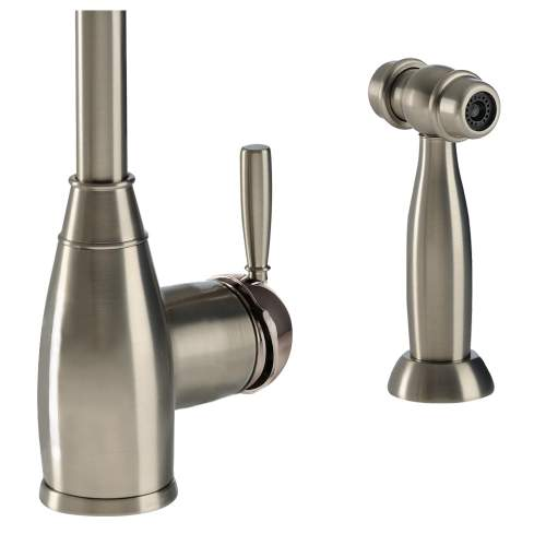 BROMPTON Single Lever Mixer Kitchen Tap With Handspray