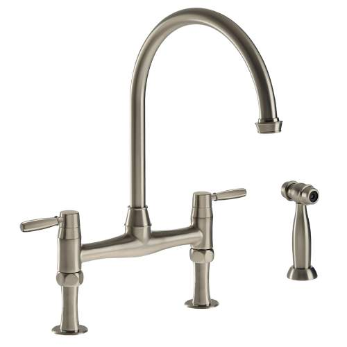 BROMPTON Bridge Kitchen Tap With Handspray
