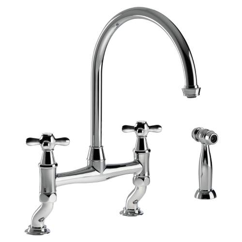 LANGLEY Bridge Kitchen Tap With Handspray