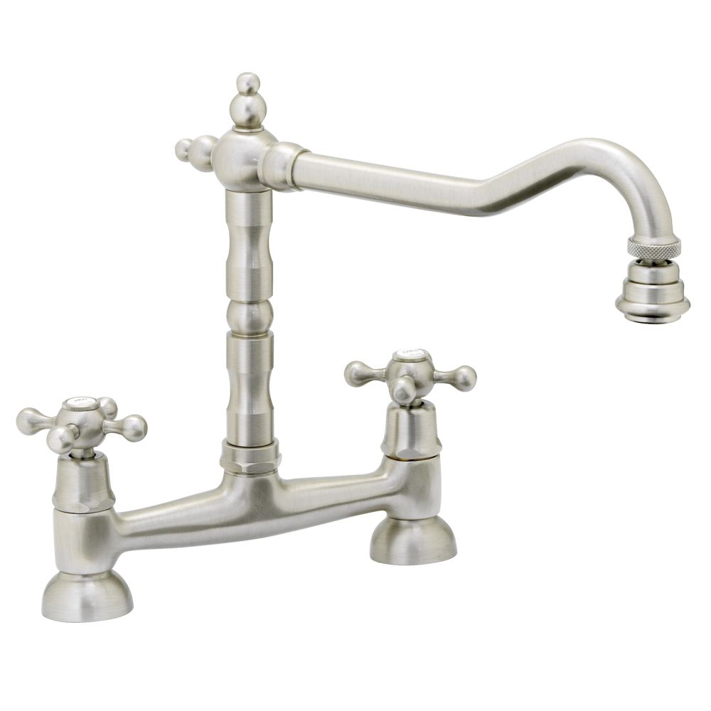 Abode Melford Bridge Kitchen Mixer Tap - AT1045 - Sinks-Taps.com