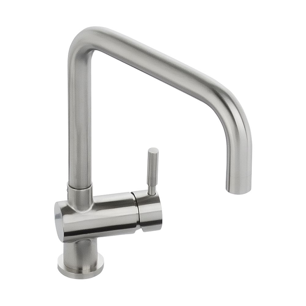 Abode Propus Single Lever Tap In Ststeel At1070 Sinks Taps Com
