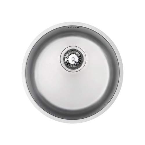 RUBUS 101B Circular Inset Kitchen Sink