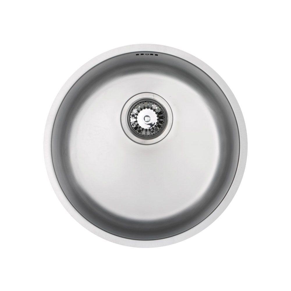 Bluci RUBUS 101B Circular Inset Kitchen Sink - Sinks-Taps.com