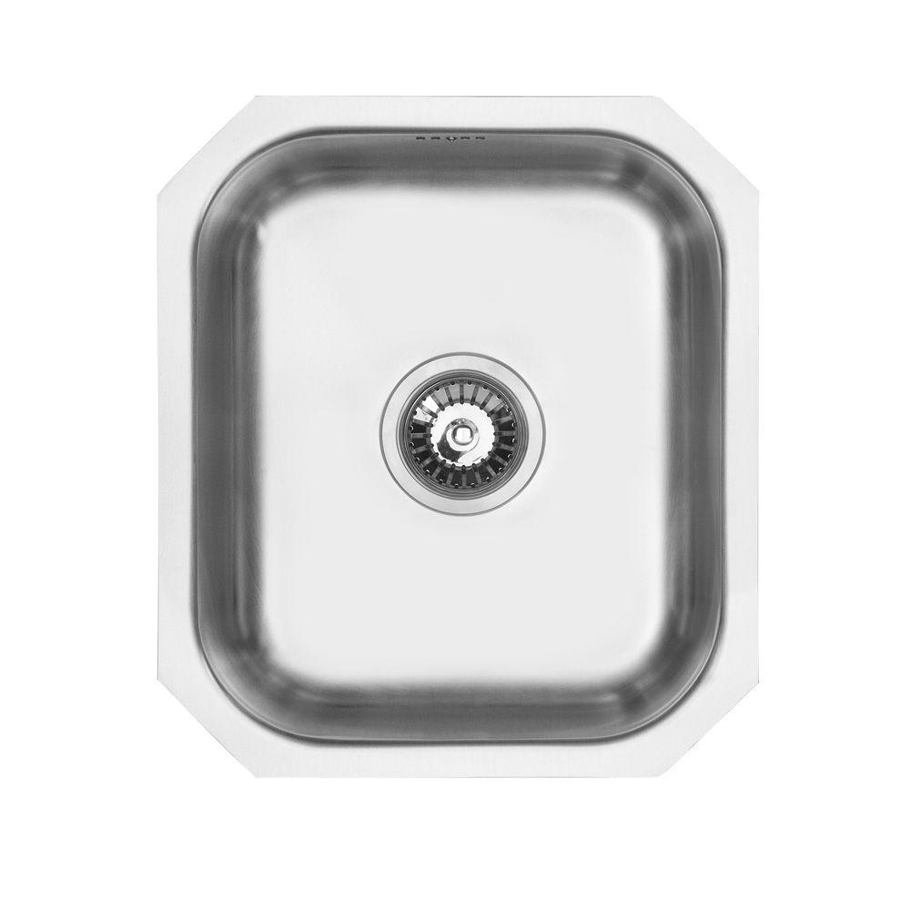 Bluci RUBUS 40U 1.0 Bowl Kitchen Sink - Sinks-Taps.com