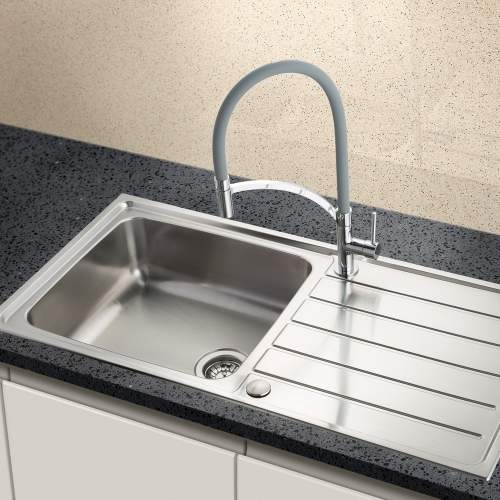 Siena 100L 1.0 Bowl Sink and Drainer