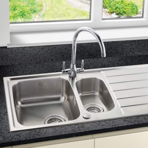 Siena 150 1.5 Bowl Sink and Drainer