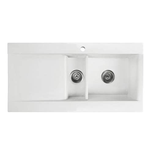VECCHIO-DS1 1.5 Bowl Ceramic Kitchen Sink