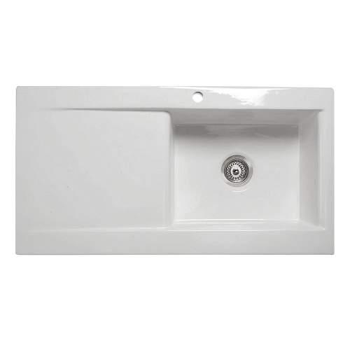 VECCHIO-DS2 1.0 Bowl Ceramic Kitchen Sink