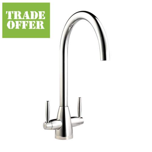 RIENZA Twin lever Kitchen Tap