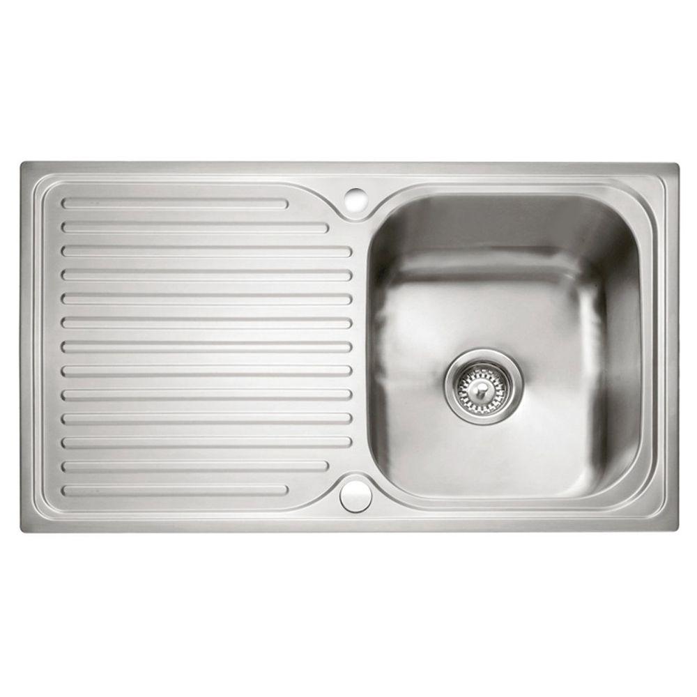 Caple DOVE 100 Stainless Steel Inset Sink - Sinks-Taps.com
