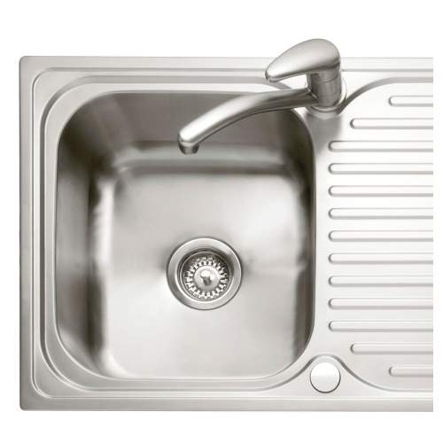 DOVE 100 Stainless Steel Inset Kitchen Sink & Drainer