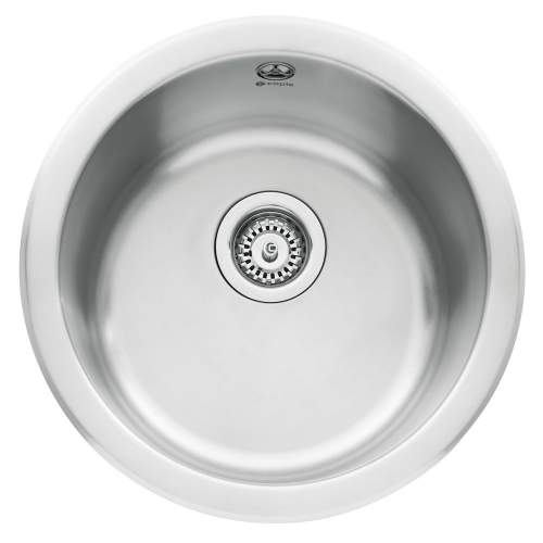 Form 45 Inset Round Bowl Kitchen Sink