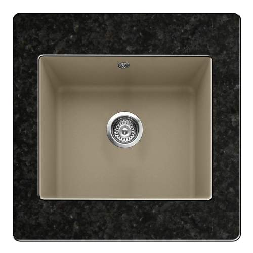 Leesti 600 1.0 Bowl Granite Kitchen Sink