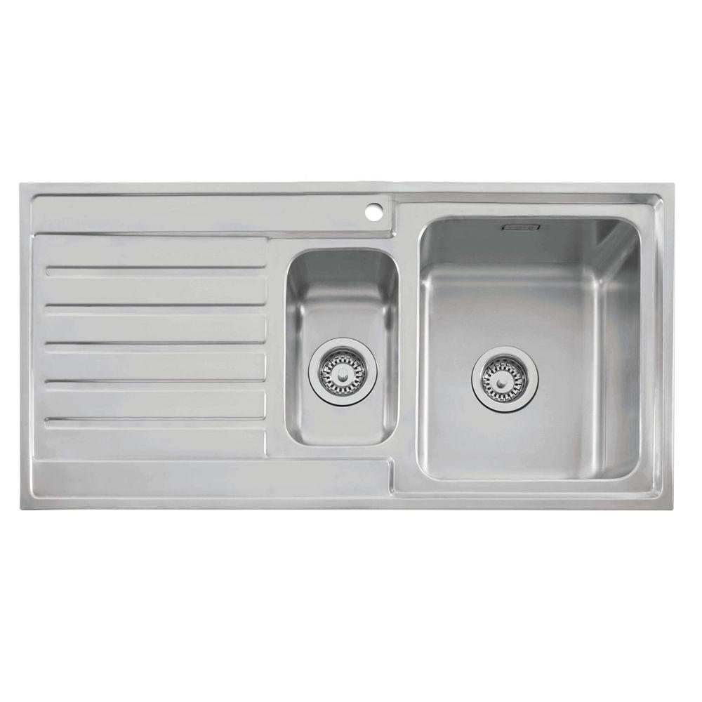 Caple Vanga 150 Stainless Sink - Sinks-Taps.com