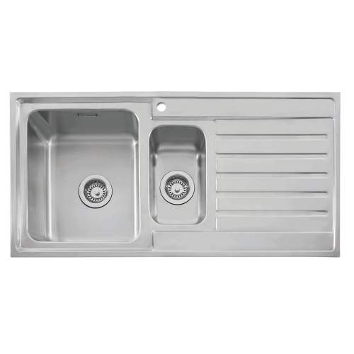 VANGA 150 Stainless Steel Inset Kitchen Sink