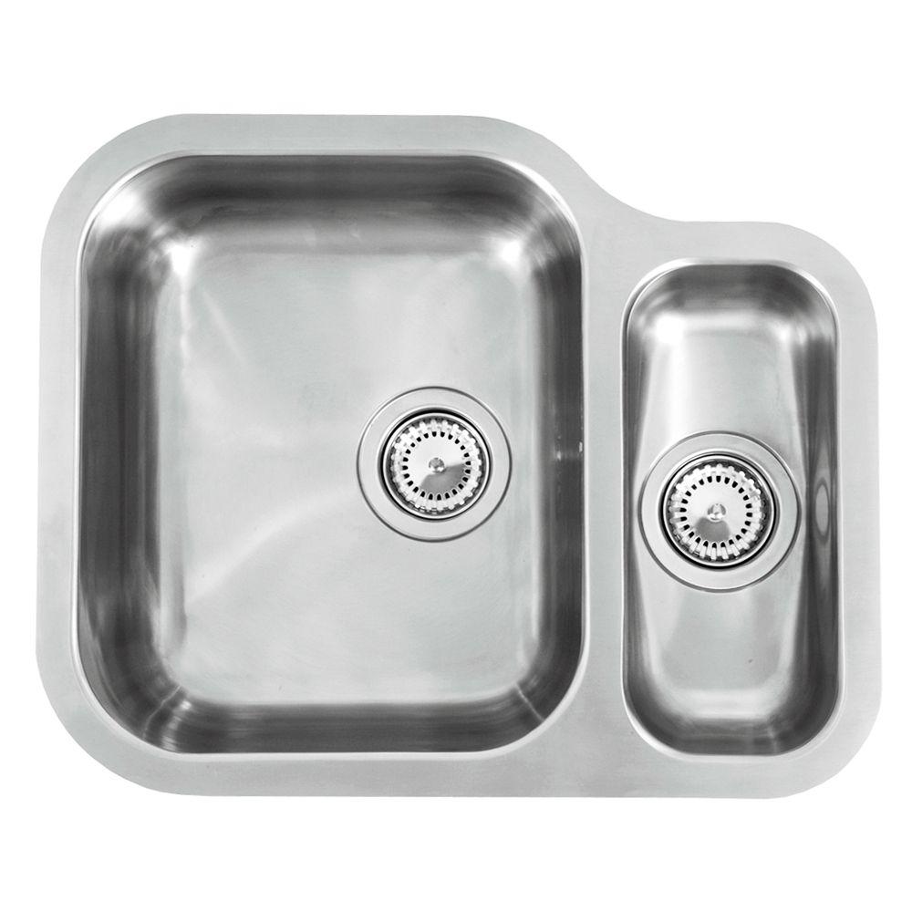 Reginox Alaska 1.5 Bowl Kitchen Sink - Sinks-Taps.com